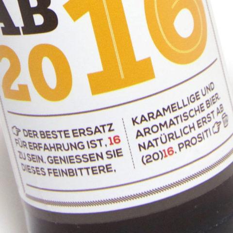 Neujahrsbier by der Leuschner Creativbüro & Stefan Christian Hoja