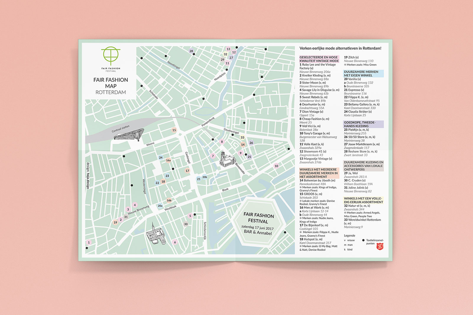 Fair Fashion Festival Rotterdam Map