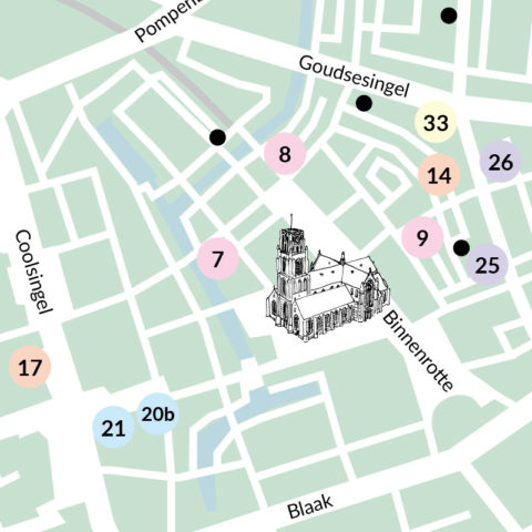 Fair Fashion Map Rotterdam by Stefan Christian Hoja