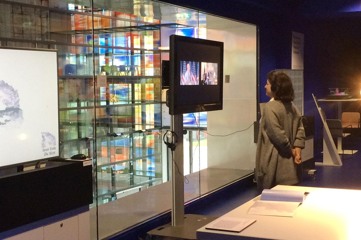 """LEADERS FAIL film exhibition in the  """"Nederlands Instituut voor Beeld en Geluid"""""""