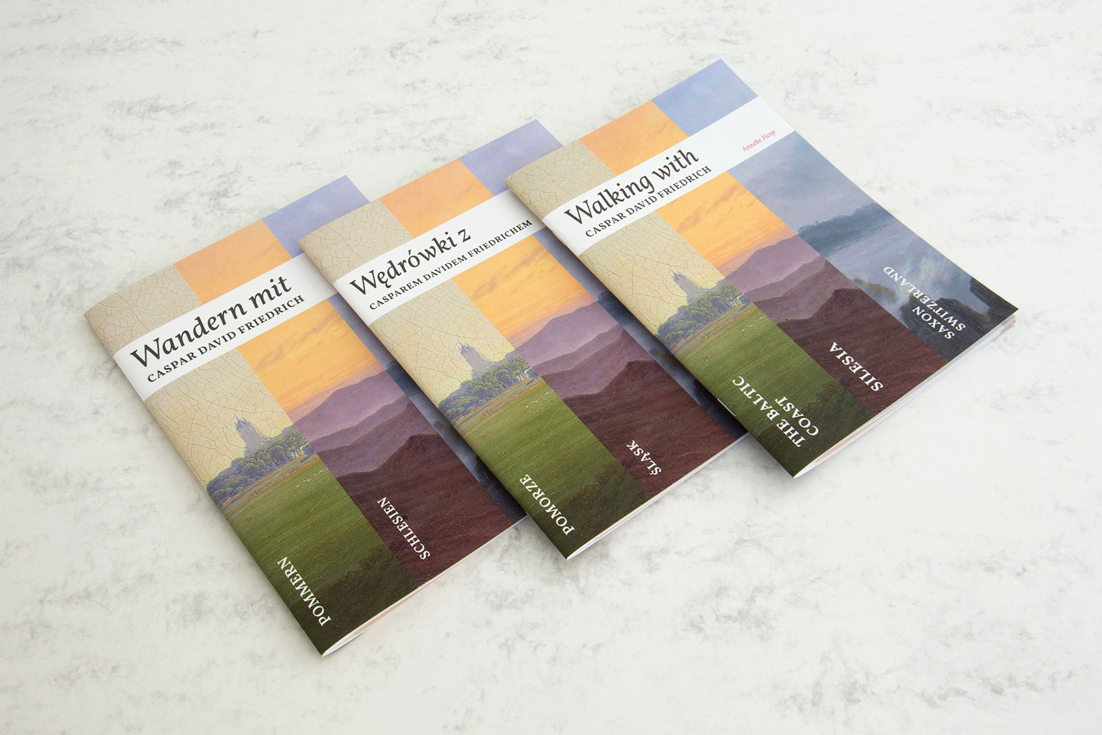 Walking with Caspar David Friedrich book