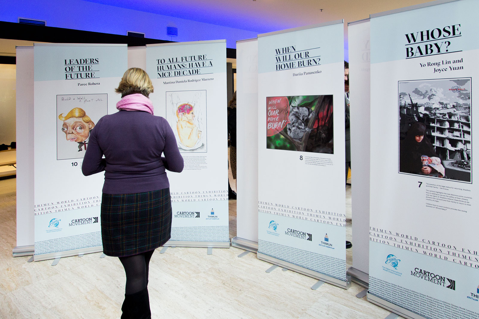 Thimun World Cartoon Exhibition