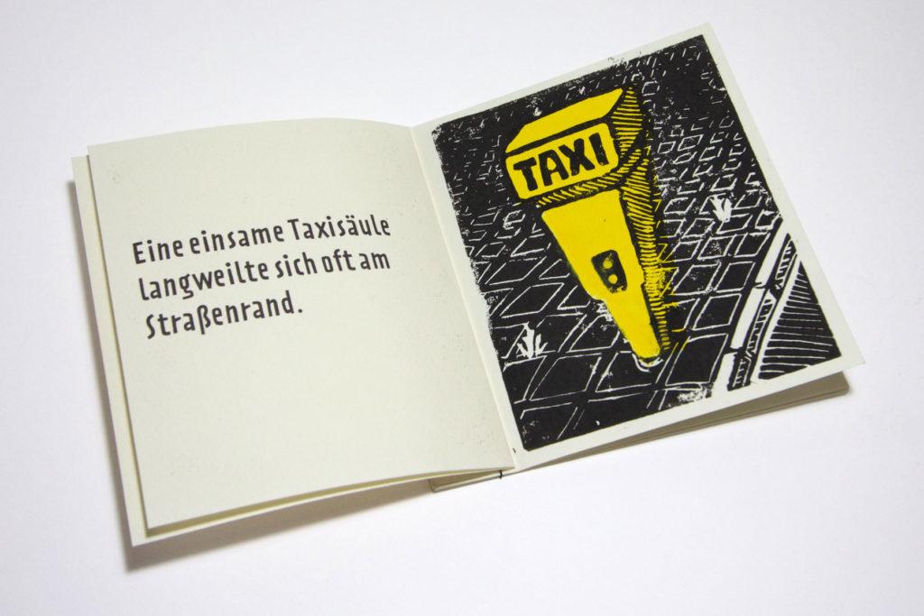 Eine reiselustige Taxisäule by Stefan Christian Hoja