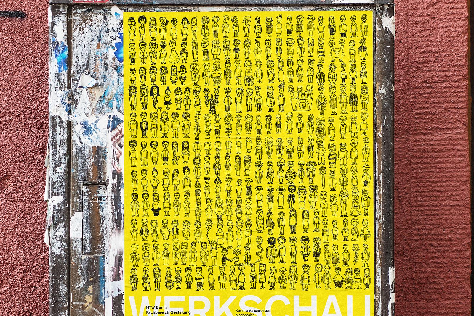 HTW Berlin Werkschau poster