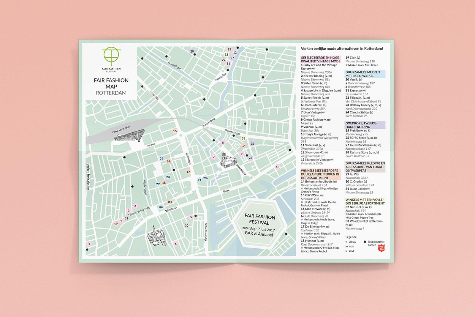 Fair Fashion Festival Rotterdam Map