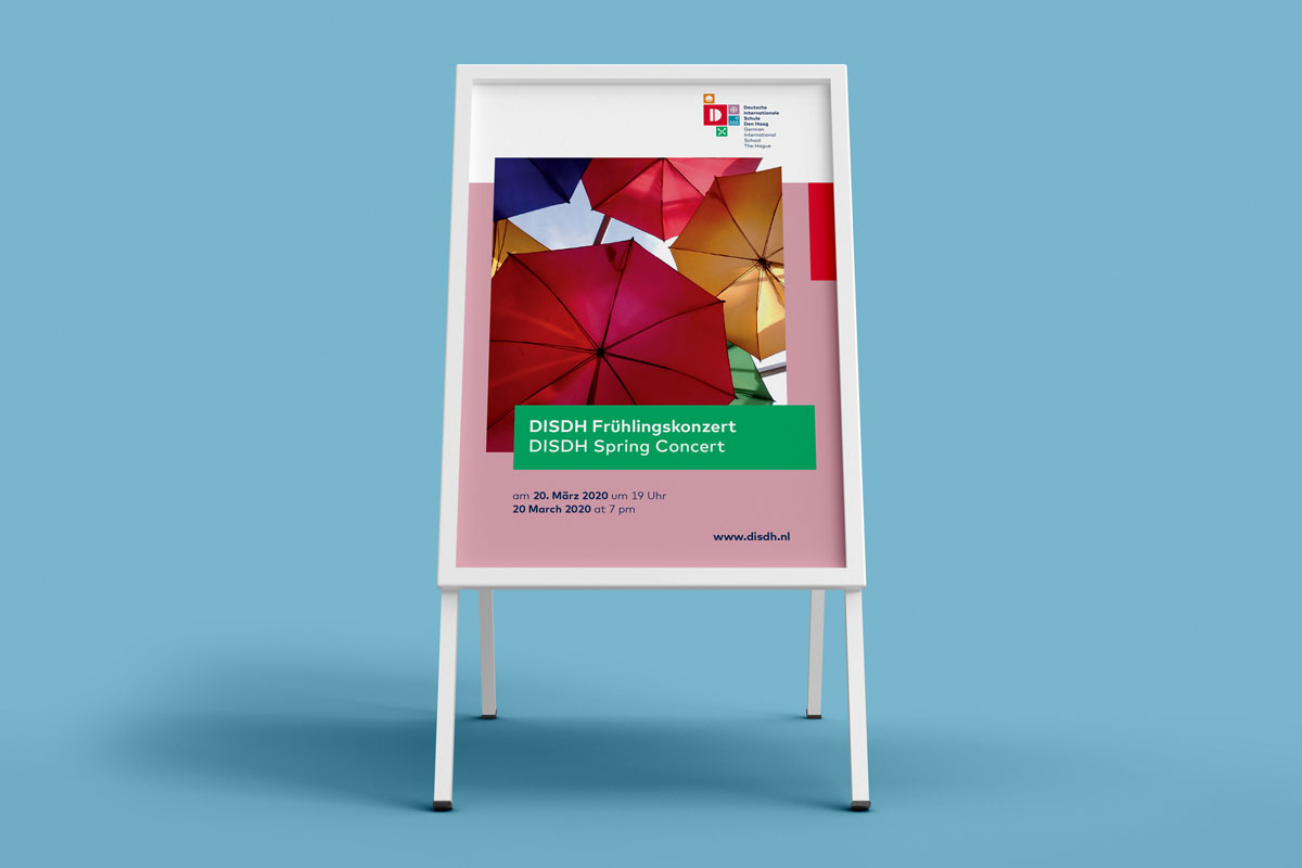 DISDH Deutsch Internationale Schule Den Haag Poster